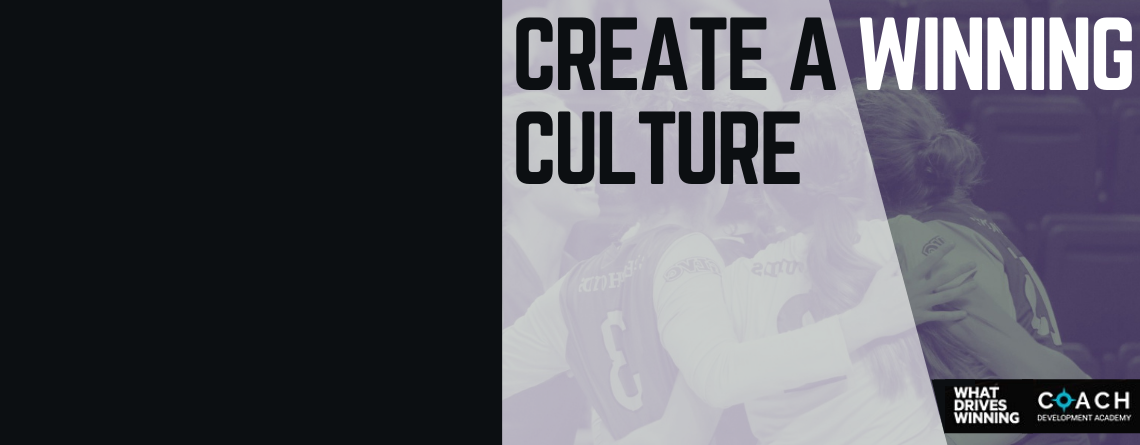 Great Lakes Coach Development: Foundations of Team Culture Workshop